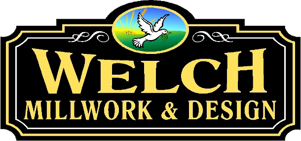 Welch Millwork and Design logo