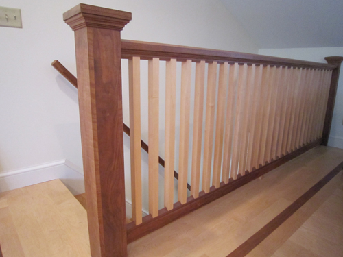 image of railing and flooring